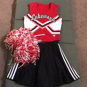 Other - Complete cheer uniform/Halloween costume xs